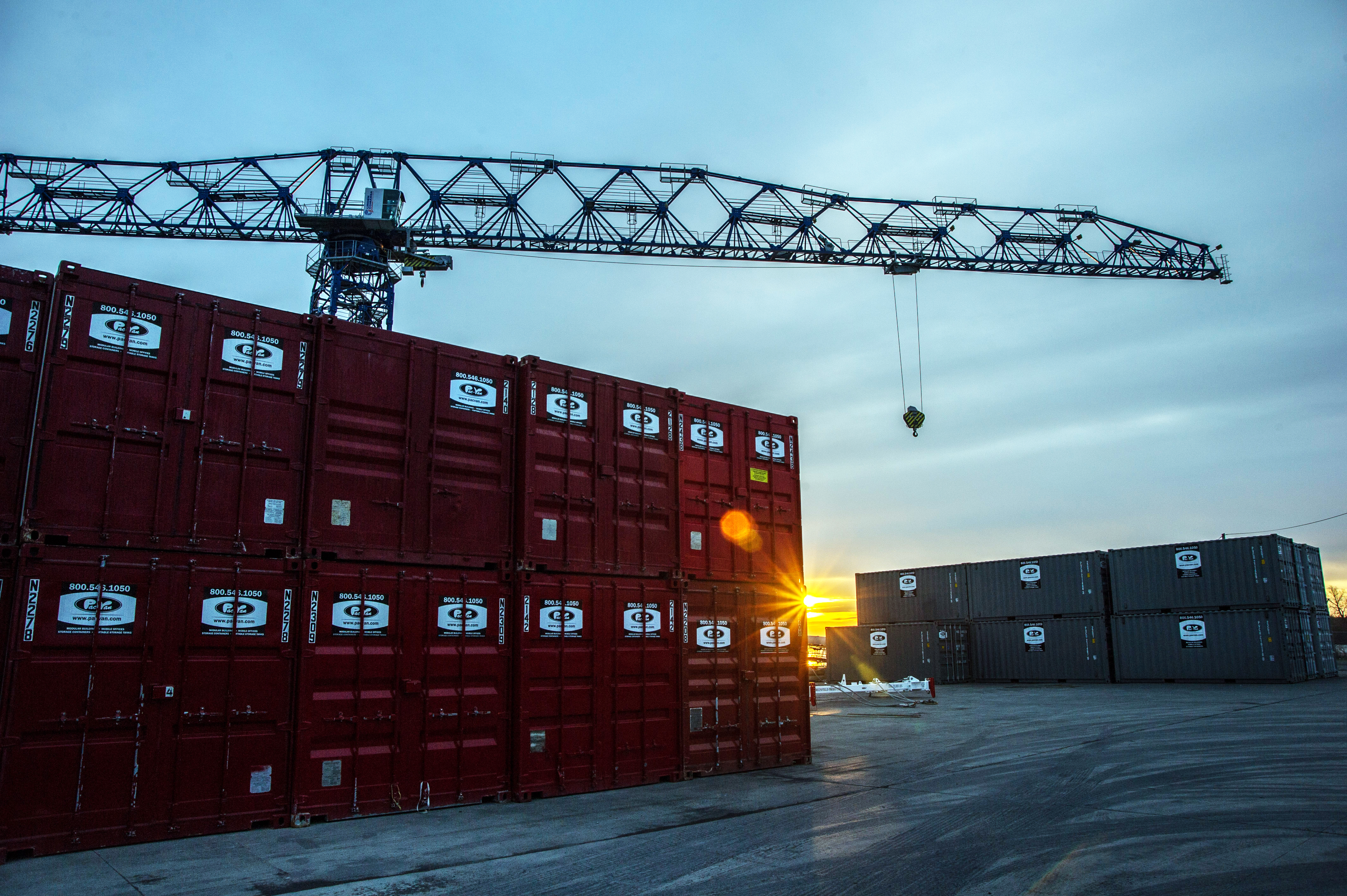 Riverport Authority | Container on Barge | Premier Inland Port